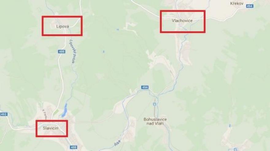 Video Části obcí v okolí vybuchlého skladu jsou evakuované