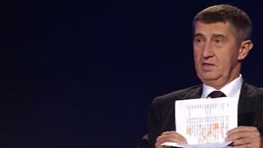 """Video Kdo dělá koalice s KSČM? """"I Schwarzenberg v Sýkořicích prý volil  členku KSČM, protože je to slušná paní,"""" tvrdí Babiš"""