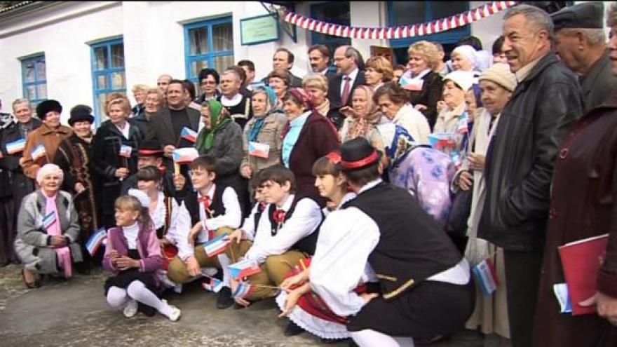 Video Zeman řešil se Zaorálkem volyňské Čechy