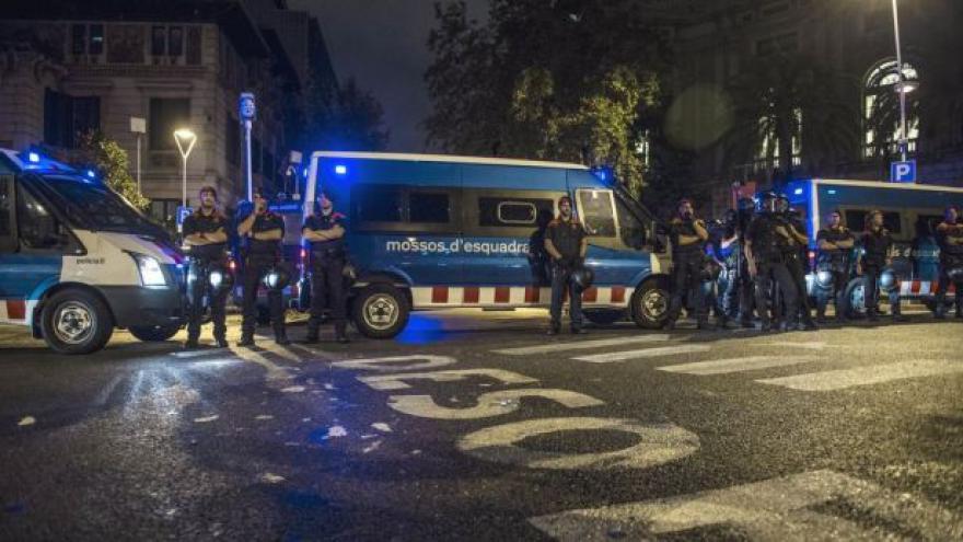 Video Boj o referendum se přesunul do ulic Barcelony