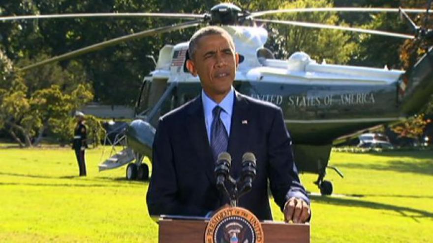 Video Obama k úderu proti islamistům v Sýrii: Není to jen boj Ameriky