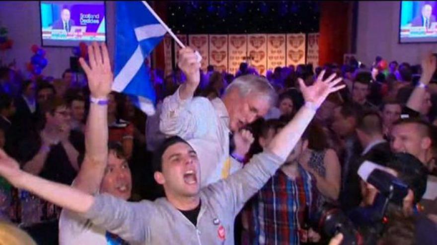 Video NO COMMENT: Radost a smutek z výsledků skotského referenda