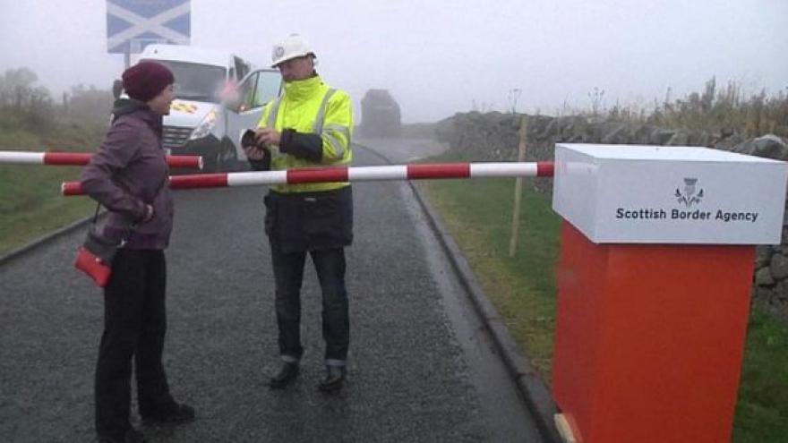 Video Falešná hraniční kontrola aneb špetka recese před referendem
