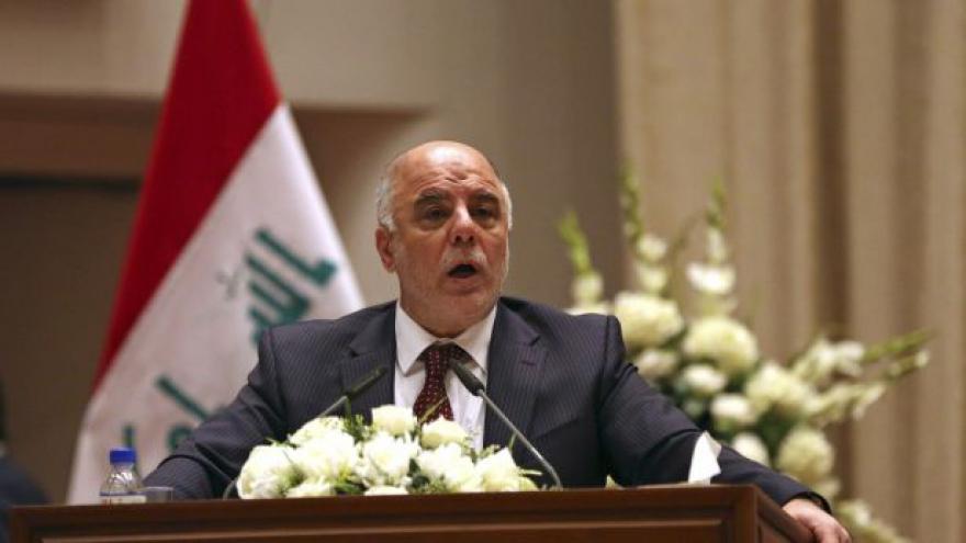 Video Nový irácký premiér chce bojovat s Islámským státem