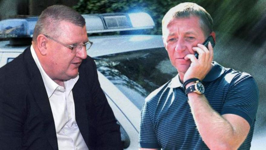 Video Policie prohledala Janouškovu vilu u Zadaru