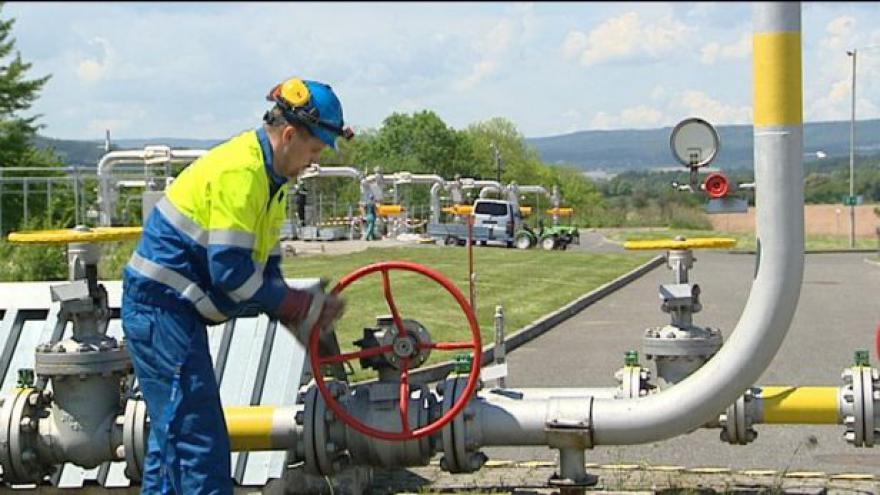 Video Česko má plynu dostatek