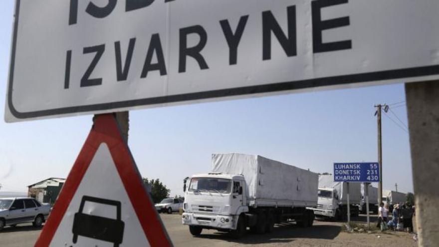 Video Ruské kamiony se vrátily do Ruska