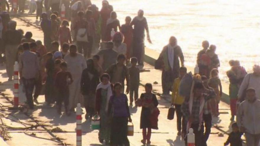 Video OSN vyhlásila nejvyšší stupeň humanitární krize