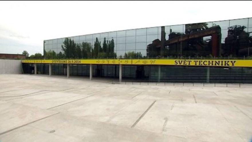 Video Dolní oblast Vítkovice otevře Velký svět techniky