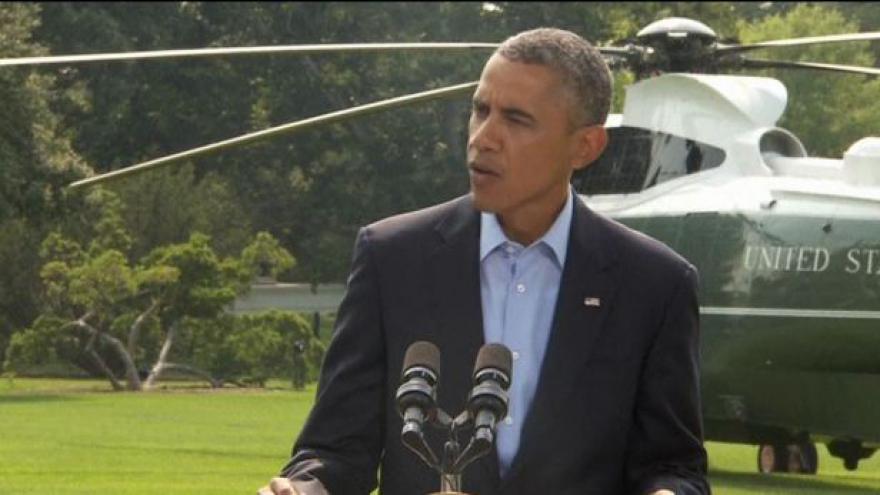 Video Obama: Shazování zásob je jen dočasné řešení