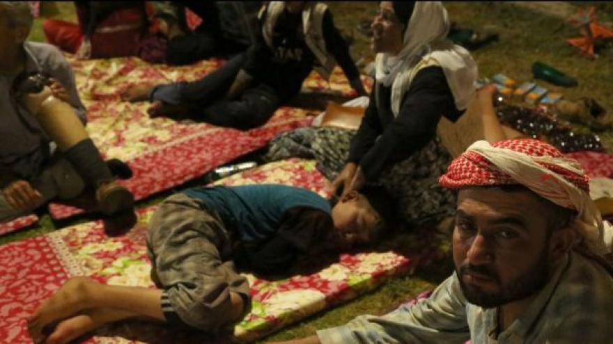 Video Situace jezídů a dalších uprchlíků je velmi kritická