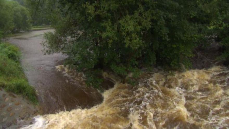 Video Velká voda zasáhla obce na Vysočině i pod ní