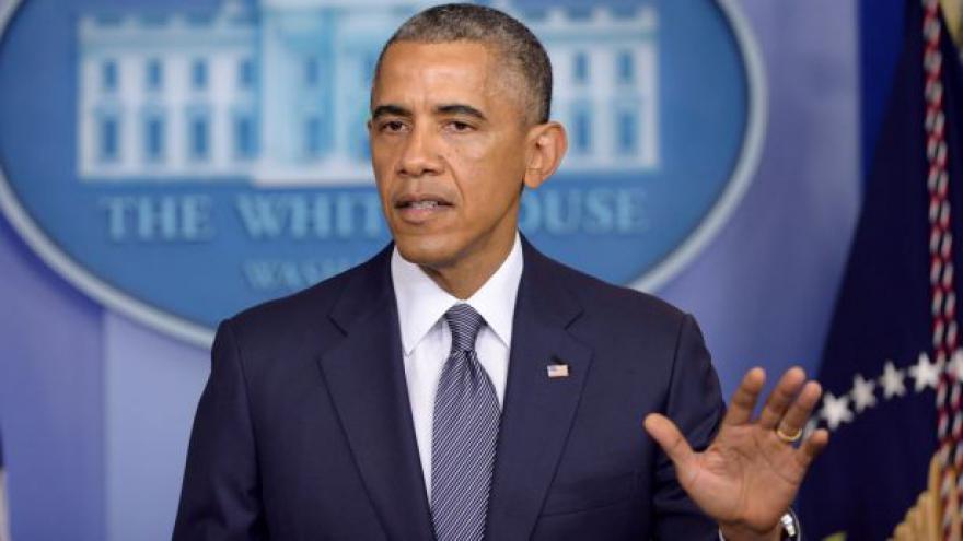 Video Brífink Baracka Obamy k pádu letadla na Ukrajině