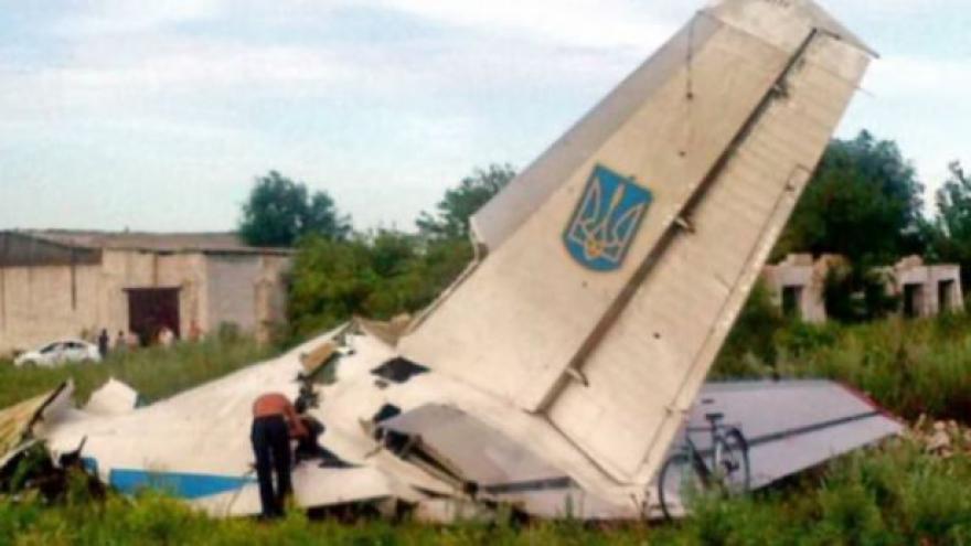 Video Události: Separatisté na Ukrajině sestřelili další letadlo