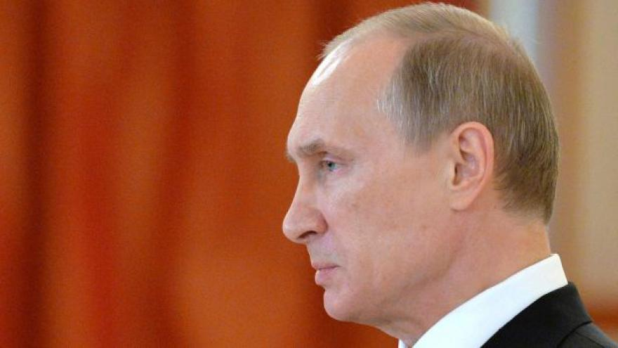 Video Putin k diplomatům: Rusové byli na Ukrajině v ohrožení