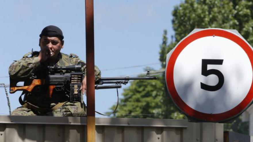 Video Ukrajinská tajná služba zadržela povstalce s přezdívkou Čech