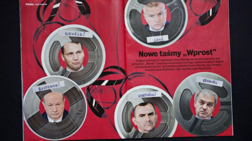 Video Palata o polských nahrávkách politiků: Je to trestný čin