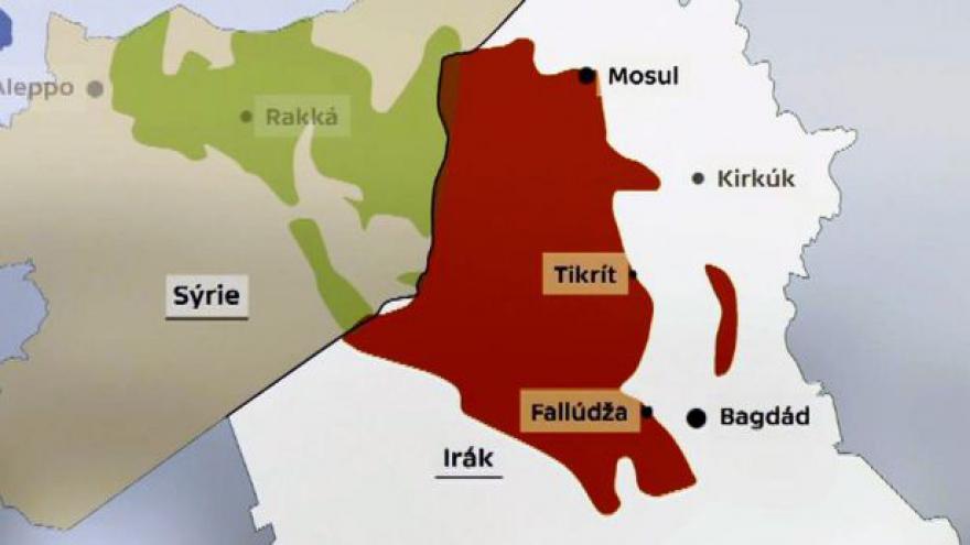 Video Události: ISIL dělí od Bagdádu jen desítky kilometrů