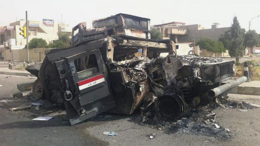 Video Iráčtí islamisté chtějí táhnout na Bagdád