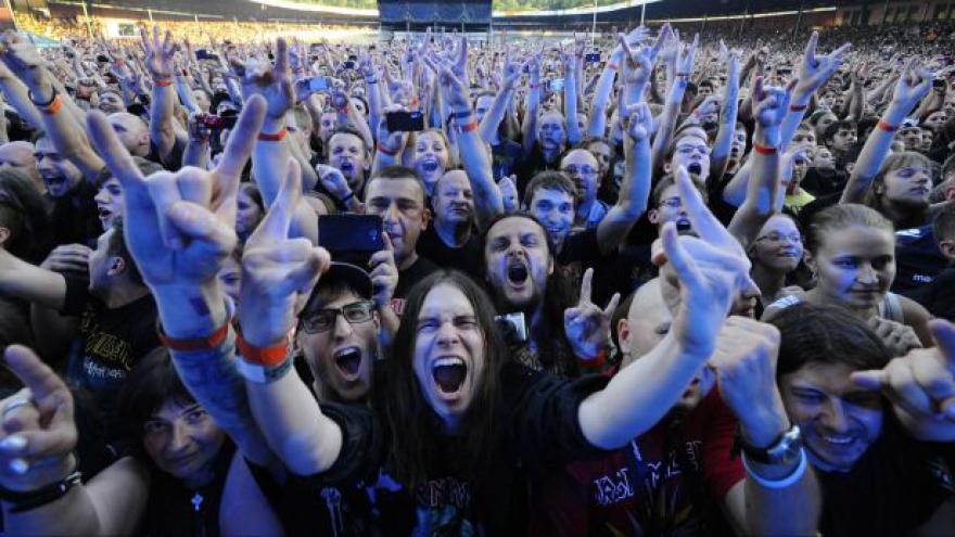 Video NO COMMENT: Brněnský koncert skupiny Iron Maiden