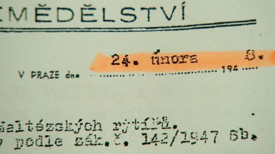 Video Restituce Bouzova a Březiněvsi se rýsují