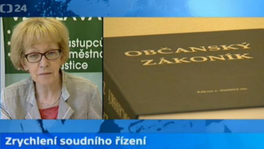 Video Brifínk ministryně spravedlnosti Heleny Válkové (ANO)