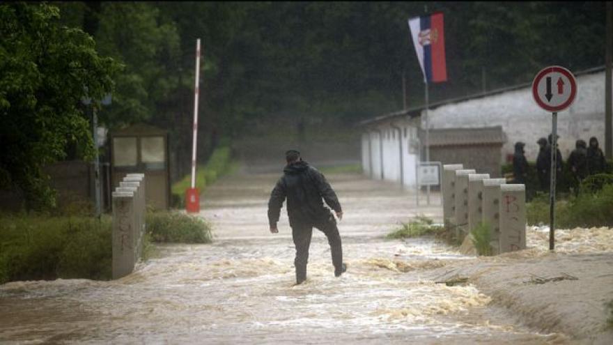 Video Povodně zasáhly Balkán, Rakousko i Maďarsko