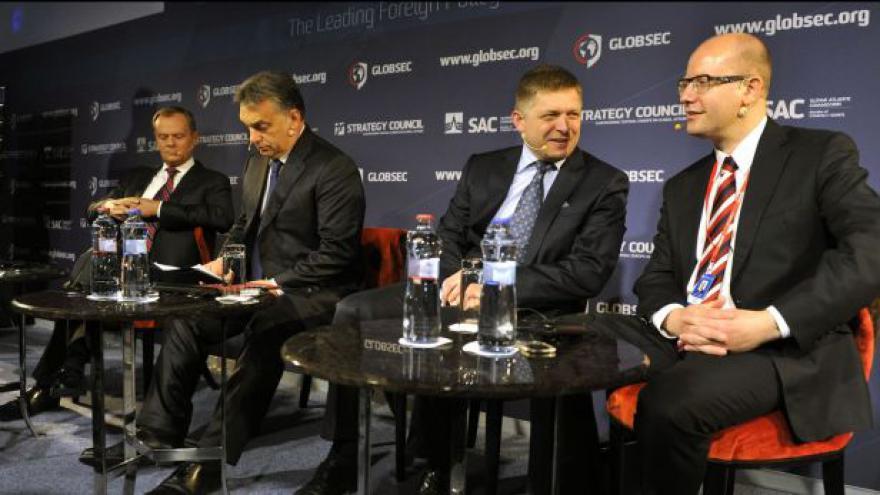 Video V4: Evropa by měla oslabovat energetickou závislost na Rusku