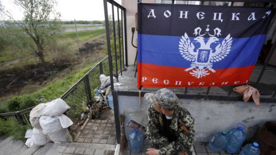 Video Vůdce slavjanských vzbouřenců vyhlásil válku ukrajinské armádě