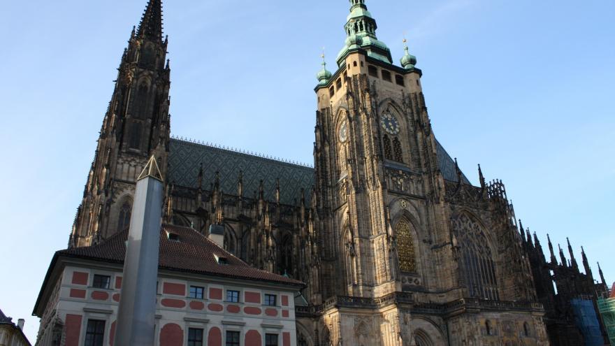 Video Virtuální model Pražského hradu