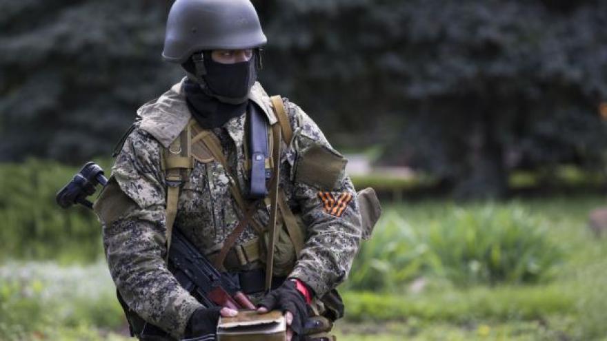 Video Ukrajinské armádě se nepodařilo vytlačit radikály z okupovaného Slavjansku