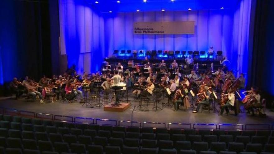 Video NO COMMENT: Ukázka ze zkoušky na dnešní koncert
