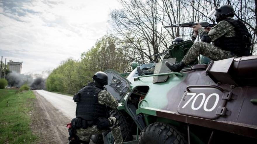 Video Události: Kyjev znovu zasahuje proti rebelům
