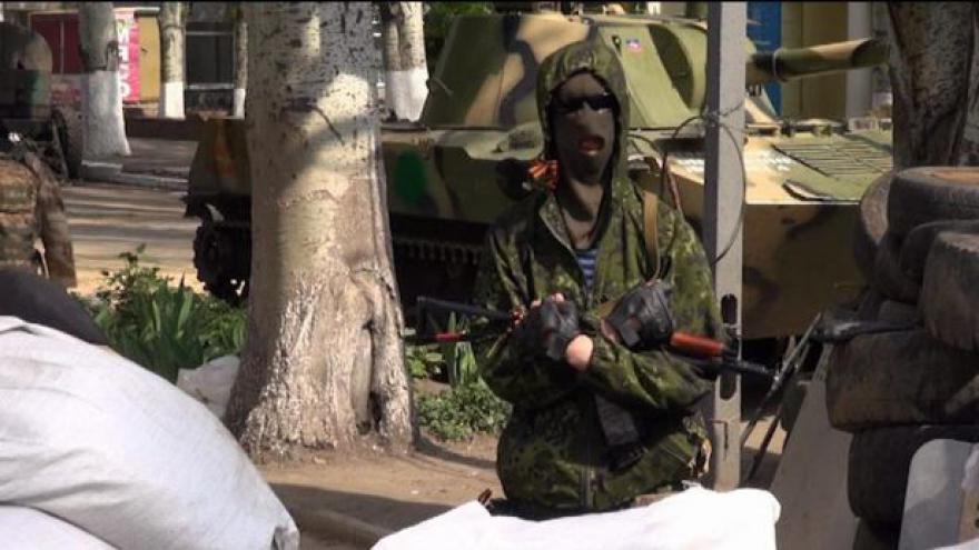 Video Protiteroristické operaci Kyjeva zatím nic nenasvědčuje