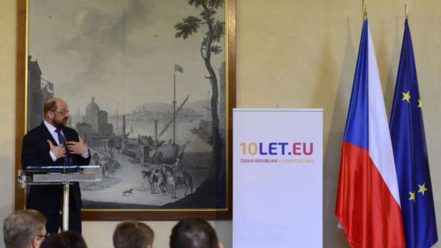 Video Schulz: EU je jeden z nejskvělejších projektů lidských dějin
