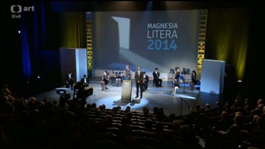 Video ZÁZNAM: Magnesia Litera za rok 2013