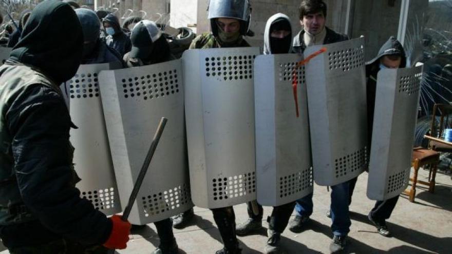 Video 17 dní od Krymu se hlásí o samostatnost východ Ukrajiny