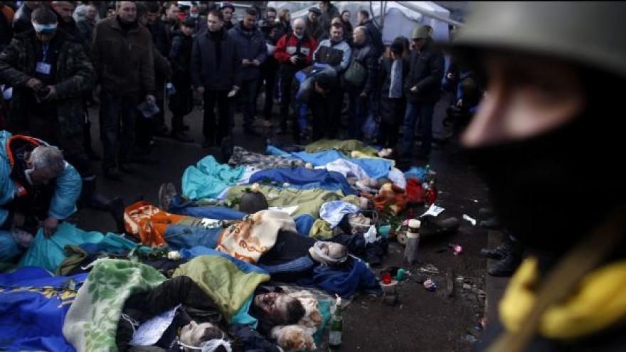 Video Výsledky vyšetřování: Za krveprolití v Kyjevě může Janukovyč