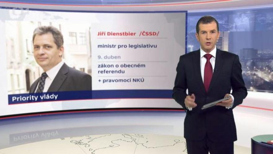 Video Postavení vlády po dvou měsících tématem Událostí ČT