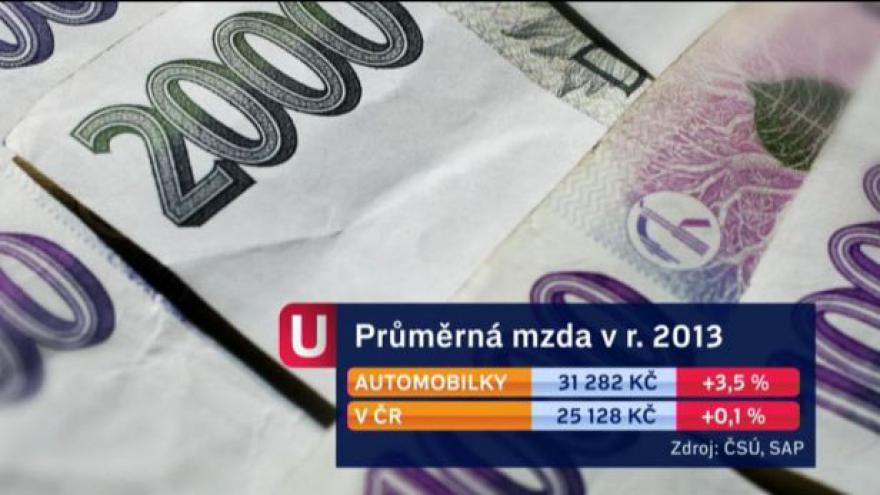 Video Události: Platy v automobilkách rostou