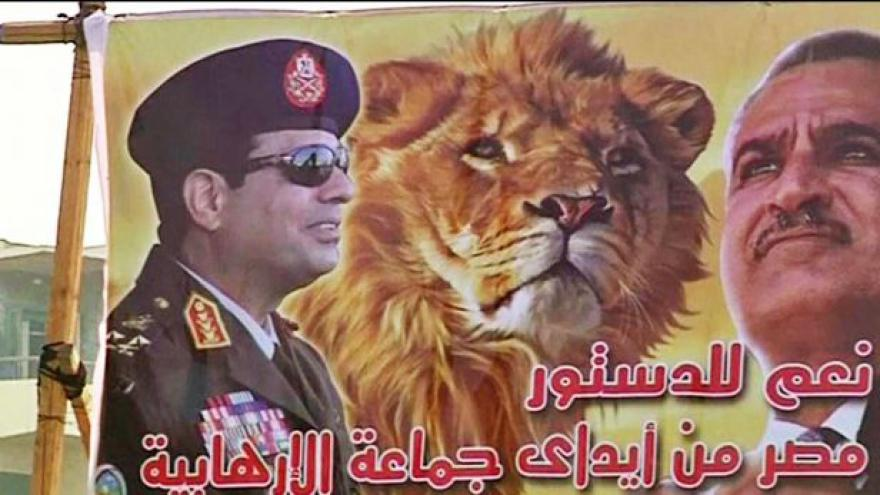 Video Generál Sísí je favoritem egyptských prezidentských voleb