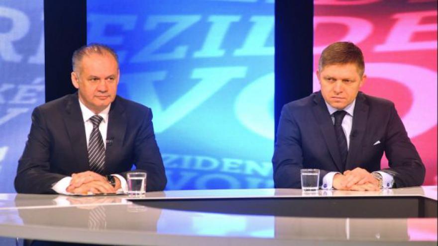 Video Sestřih debaty kandidátů na slovenského prezidenta