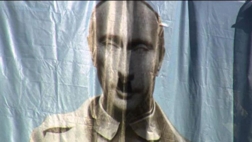 Video NO COMMENT: Putin na liberecké radnici