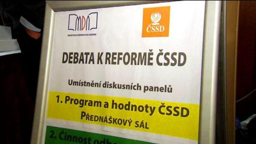 Video ČSSD posílí vliv členské základny na úkor bossů