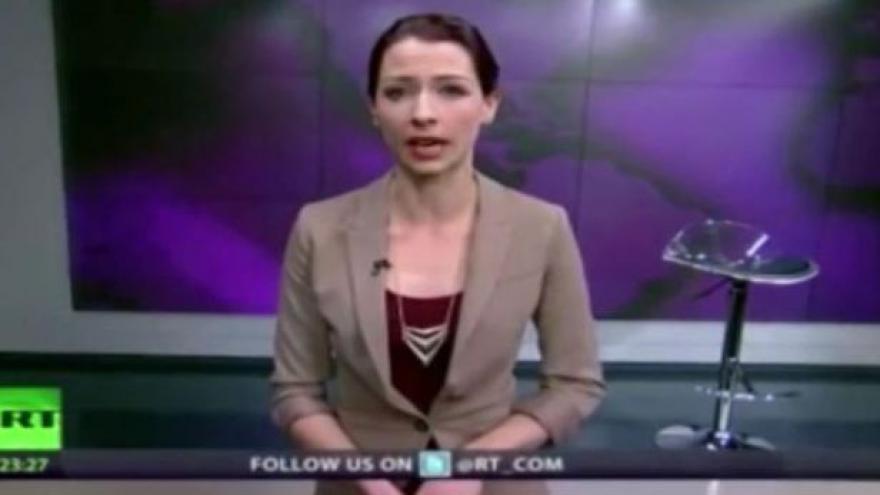 Video Moderátorka státní ruské TV odsoudila krymskou invazi