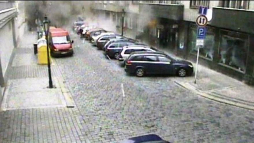 Video Divadelní ulice skoro rok po výbuchu