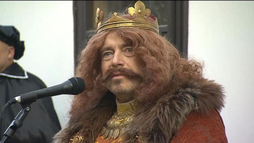 Video V Poděbradech vystavují originál smlouvy krále Jiřího
