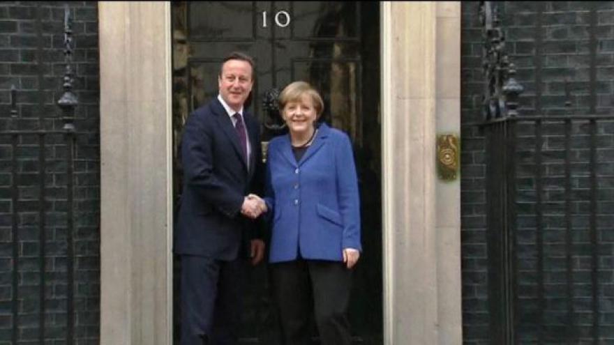 Video Angela Merkelová jednala s Davidem Cameronem o reformách EU