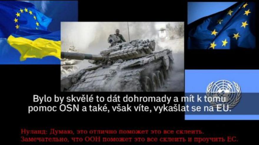 Video Na internet unikly hovory amerických diplomatů