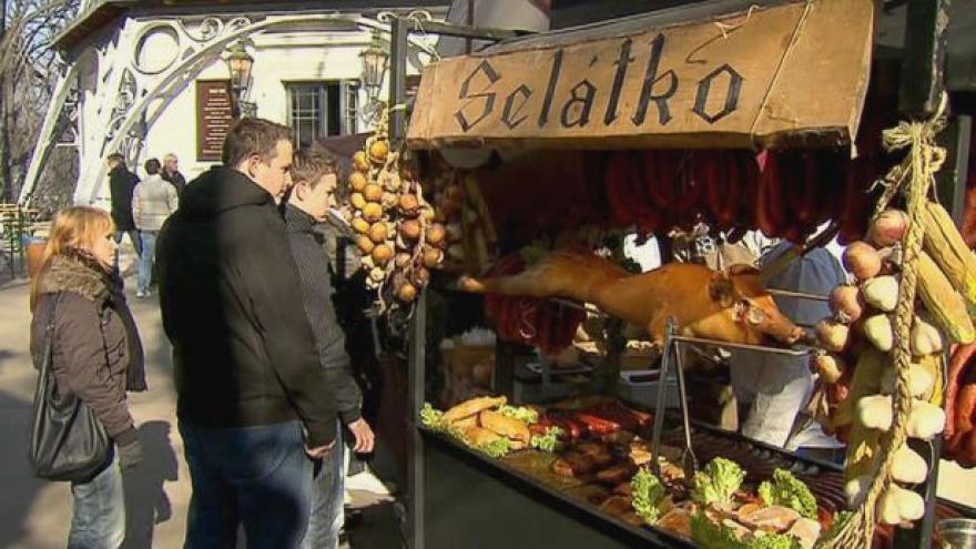 Video Zabijačka: v Praze v rámci farmářských trhů a hospod